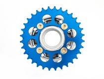 Hob и цепное колесо мотоцикла Стоковые Изображения RF