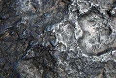 Hoba陨石表面 免版税库存照片