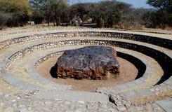 Hoba陨石 库存照片