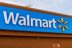 Hobart - Circa May 2018: Walmart Retail Location. Walmart is an American Multinational Retail Corporation IV Royalty Free Stock Photo