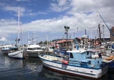 Hobart City Marina Fotografía de archivo