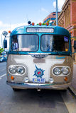 Hobart cityview. Car front Pioneer express parked in Hobart, Tasmania Royalty Free Stock Image