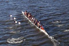 Hobart College compete na cabeça da faculdade Eights de Charles Regatta Men Imagens de Stock Royalty Free
