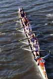 Hobart College compete na cabeça da faculdade Eights de Charles Regatta Men Imagens de Stock