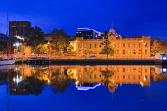 Hobart Gallery Reflection Stock Image