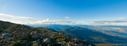 hobart montering tasmania wellington Fotografering för Bildbyråer