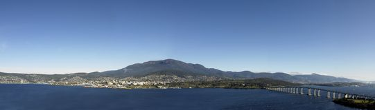Hobart Tasmania Arkivfoto