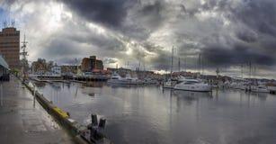 Hobart, Tasmania, Australia, docks Royalty Free Stock Photos