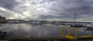 Hobart, Tasmania, Australia, docks Stock Image