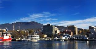 Hobart, Tasmania, Australia, docks Royalty Free Stock Images
