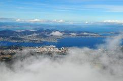 Hobart in Tasmanige Stock Fotografie