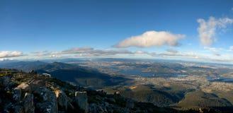 Hobart Tasmanige zet Wellington op Stock Afbeeldingen