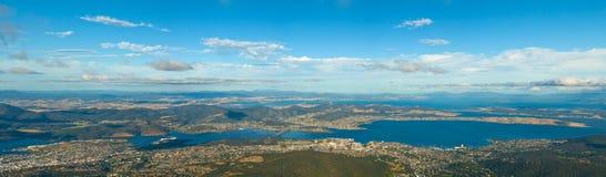 Hobart Tasmanige zet Wellington op Royalty-vrije Stock Foto