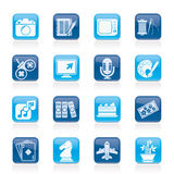 Hobbies and leisure Icons vector illustration