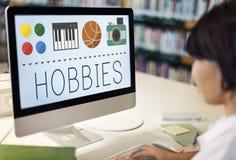 Hobbies Leisure Lifestyle Pastime Fun Concept Stock Photo