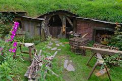 Hobbit house Stock Image