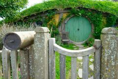 Hobbit house Royalty Free Stock Image