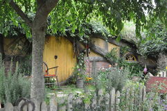 Hobbit house Stock Images