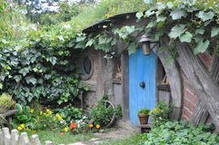 Hobbit house Stock Photography