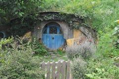 Hobbit house Stock Photo