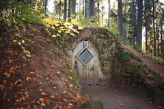 Hobbit house Stock Photo