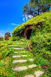 Hobbit Village Royalty Free Stock Photo