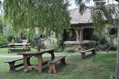 Hobbit village pub Royalty Free Stock Photo