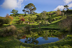 Hobbiton Royalty Free Stock Images