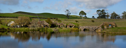 Hobbiton, Mata Mata Royalty Free Stock Photography