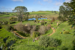 Hobbiton, Mata Mata Stock Photo