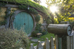 Hobbiton - New Zealand. From a visit in April, 2016 to Hobbiton, in New Zealand Stock Images