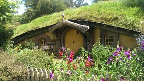 Hobbiton Royalty Free Stock Image