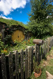 Hobbiton. The Shire, New Zealand royalty free stock photo