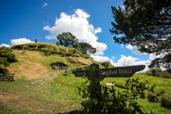 Hobbiton. The Shire, New Zealand Stock Images