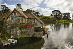Hobbiton watermill Royalty Free Stock Photos