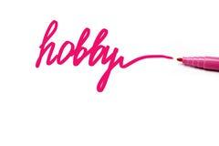 Hobby Royaltyfria Foton