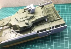 Hobby - Assembly of reduced copies of real battle tanks. Such models are very popular and many fans collect dozens of models at ho. Hobby - Assembly of reduced royalty free stock images