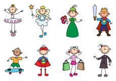 Hobby dell'uomo del bastone di varietà royalty illustrazione gratis
