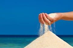 Hobby della spiaggia Fotografia Stock Libera da Diritti
