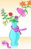 Hobby di disposizione dei fiori Immagine Stock