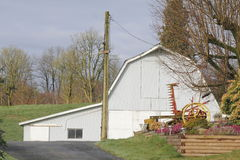 Hobby Farm Barn Royalty Free Stock Photo
