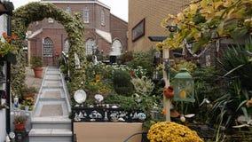 A Hobby Garden in a Small Village Royalty Free Stock Photos