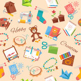 Hobby And Handicraft Pattern Royalty Free Stock Image