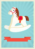 Hobby horse background Royalty Free Stock Image
