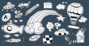 Hobby Immaginations-Spaß-Kreativitäts-Tätigkeits-Inspirations-Konzept Lizenzfreies Stockfoto
