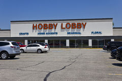 Hobby Lobby Retail Location II. Indianapolis - Circa June 2016: Hobby Lobby Retail Location. Hobby Lobby is a Privately Owned Christian Principled Company II stock photos