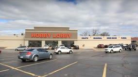 Hobby lobby sklep w Springfield, MO, na Kwietniu 14, 2018 Obrazy Royalty Free