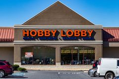 Hobby Lobby Store. Lancaster, PA, USA - October 18, 2018: Hobby Lobby Stores is a private for-profit corporation that owns and operates a chain of American arts stock photo
