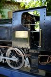 Hobby: model steam train engine cab Royalty Free Stock Image
