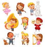 hobby Personaggio dei cartoni animati divertente royalty illustrazione gratis